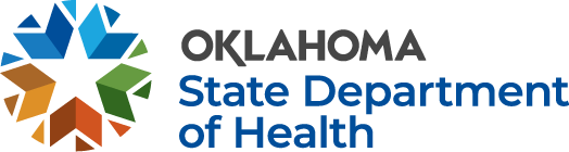 Logo for COVID-19  Oklahoma State Department of Health