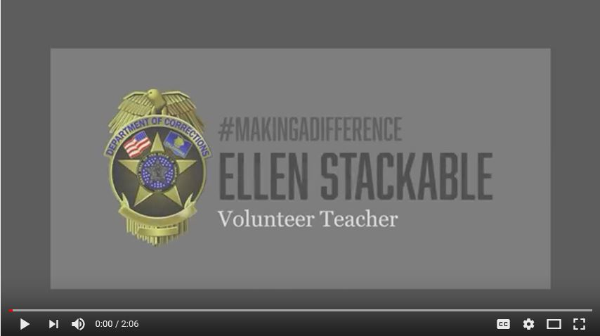 Ellen Stackable, Volunteer teacher