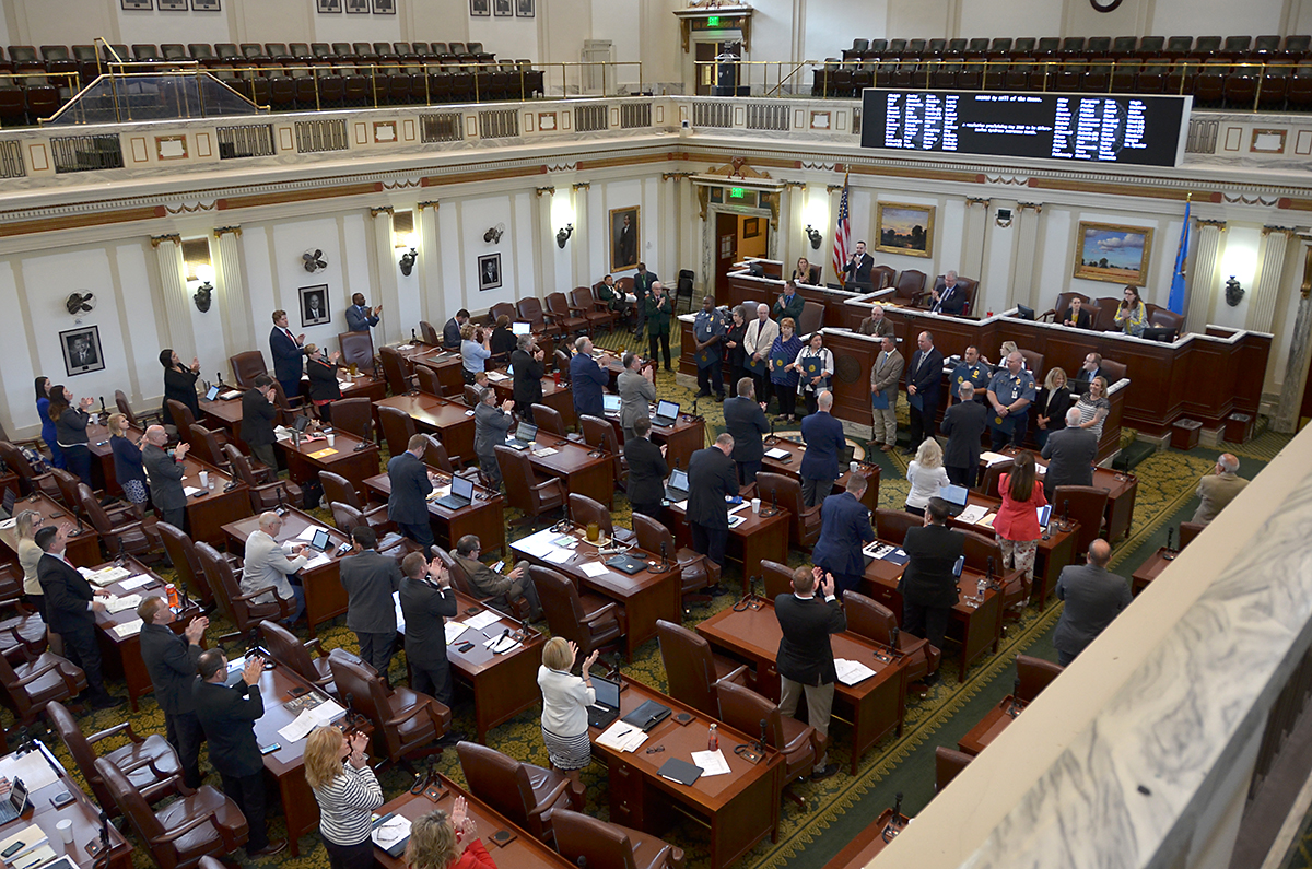 Employees honored on the House floor
