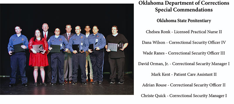 Oklahoma State Penitentiary Special Commendations Group