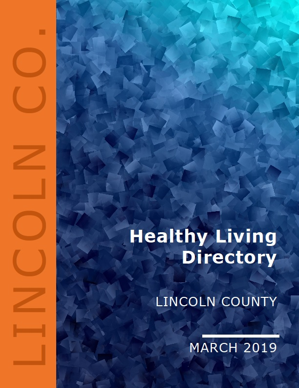 Lincoln County Healthy Living Directory cover