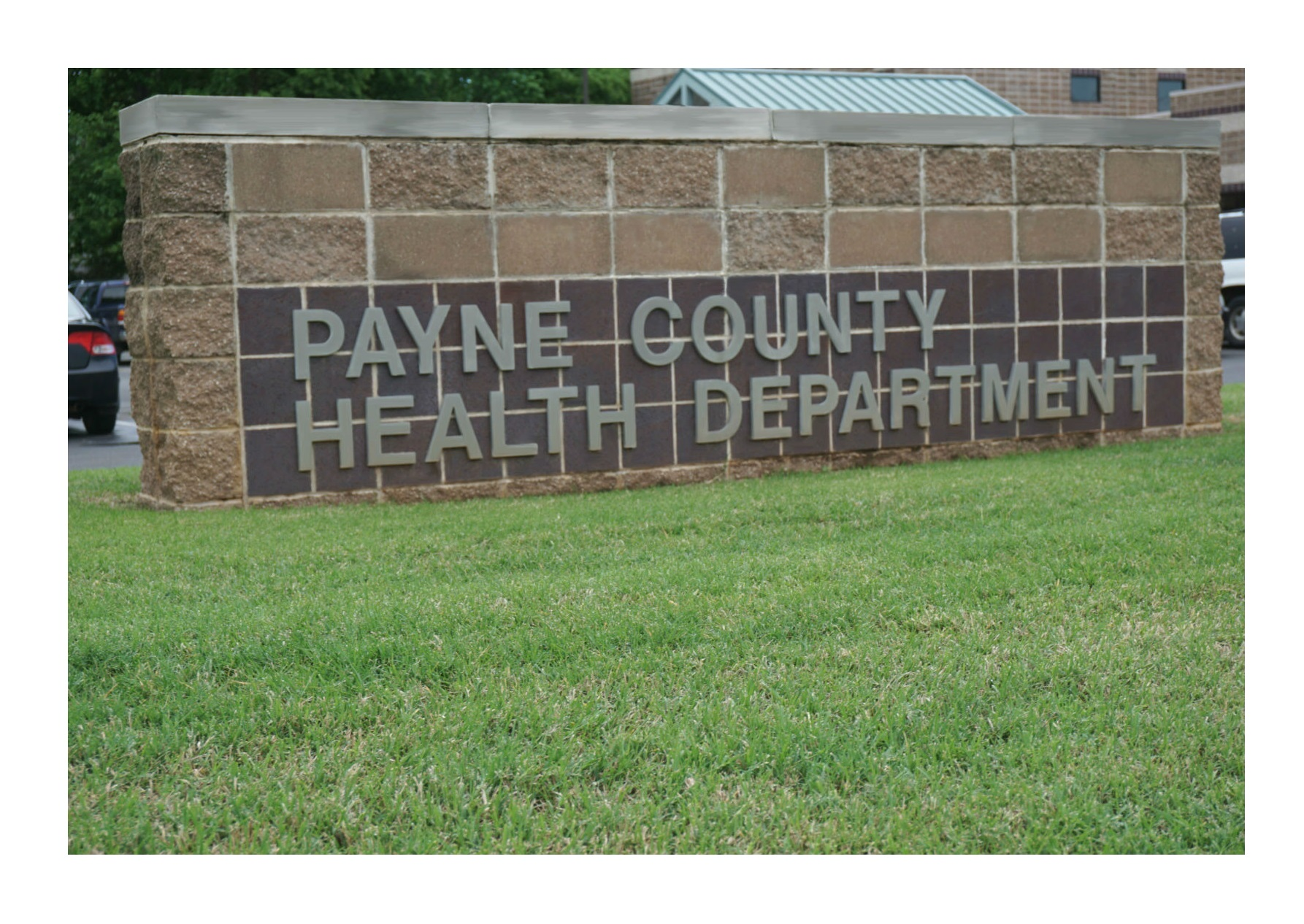 Payne County Health Department Sign