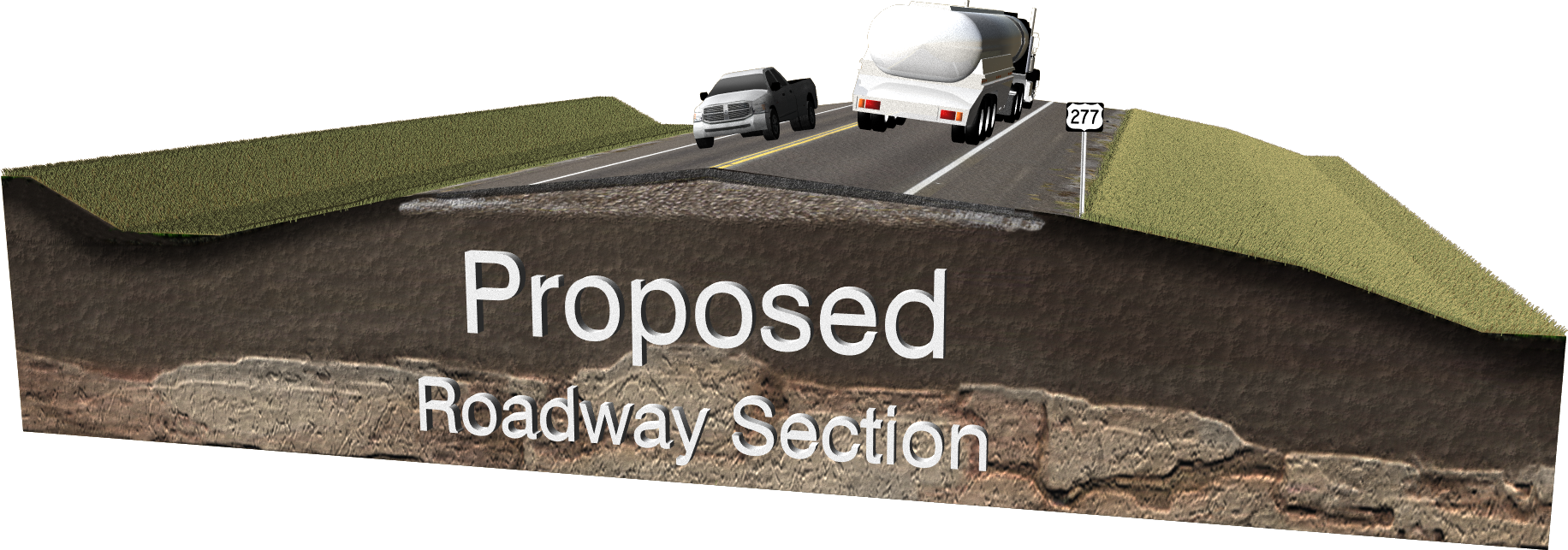 Proposed Roadway Typical Section