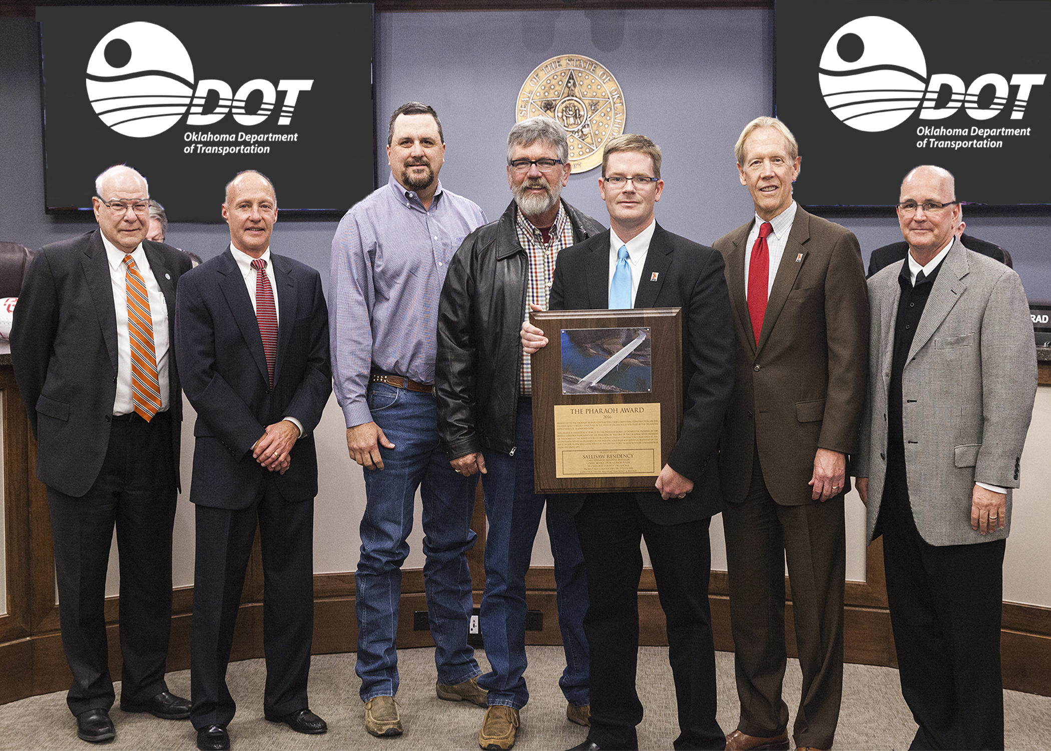 ODOT engineers recognized for award-winning bridge project