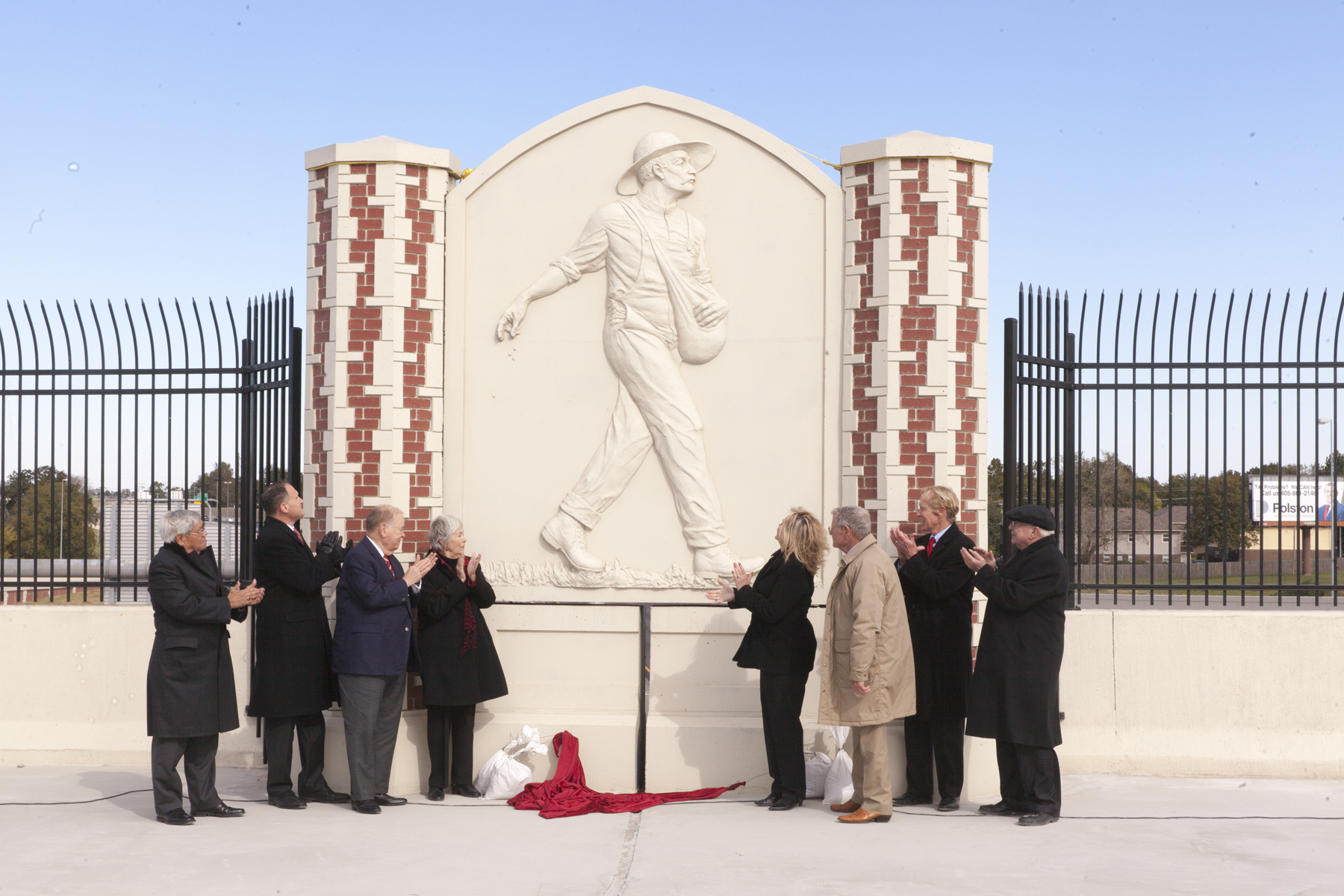 Unveiling of Lindsey St. artwork