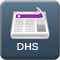 Button for DHS news releases